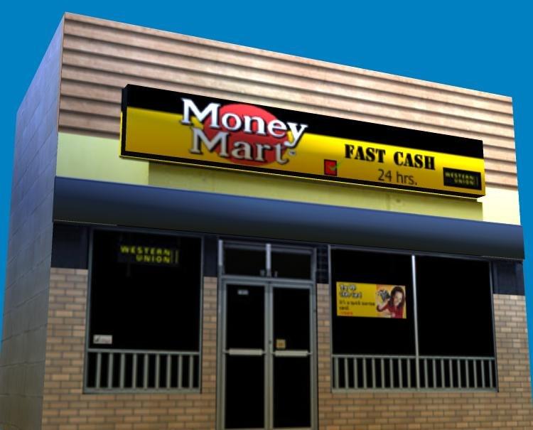 money mart store obj