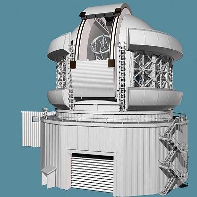 3d model observatory