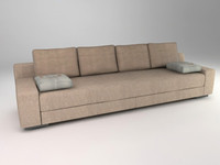 3ds max modern design sofa