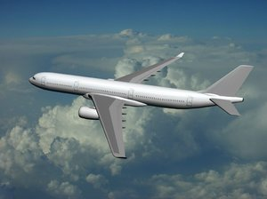 airbus industrie a350-900 generic 3d 3ds