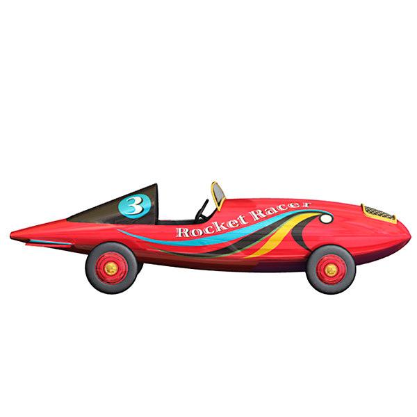 3d marx rocket racer toy car