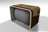 TABLE TOP TV NON-TEXTURED.c4d