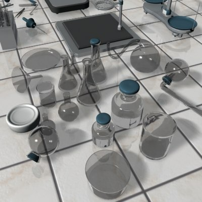 3d laboratory chemistry