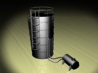 3d oil reservoir