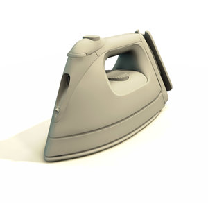 moulinex optimate 60 steam iron 3d model