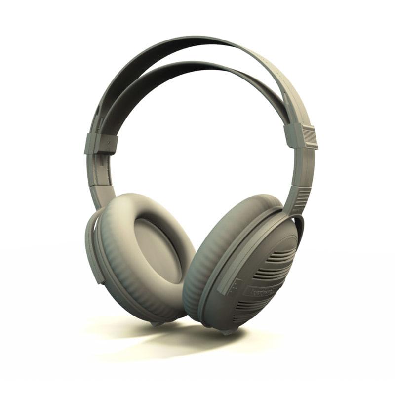3d model beyerdynamic dt801 headphones