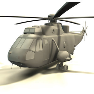 3d seaking helicopter model