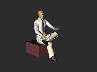 3d mannn model