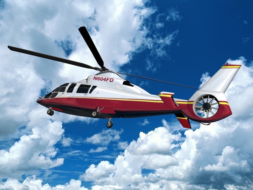 eurocopter ec-155b private livery 3d model