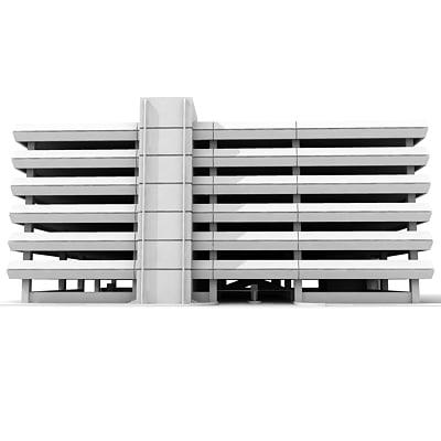 3d model of city block