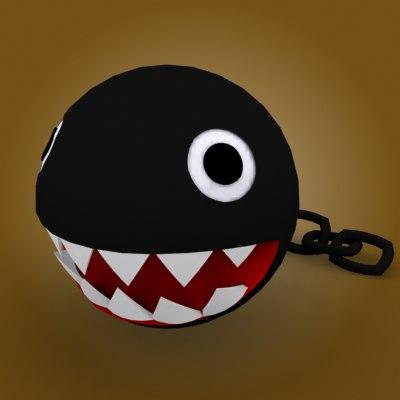 chain chomp 3d model