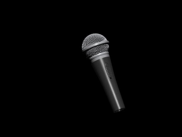 hi mic 3d model