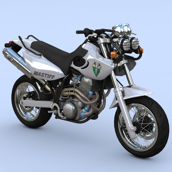 bike mastiff mastif 3d model
