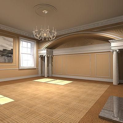3ds interior space