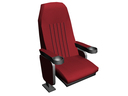 theater seat chair 3d model