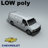 3ds max chevrolet express