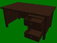 desk 3ds