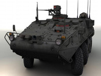 3d model stryker rv