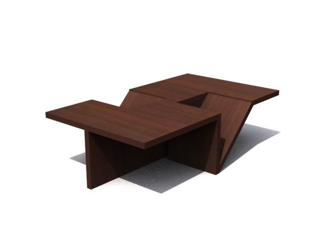 coffee table - 3d model