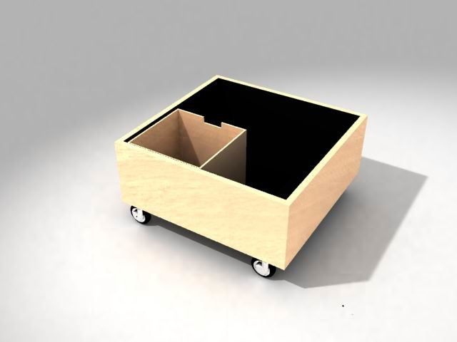 3d coffee table -