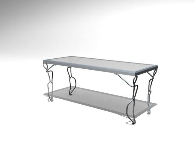 3d model coffee table -