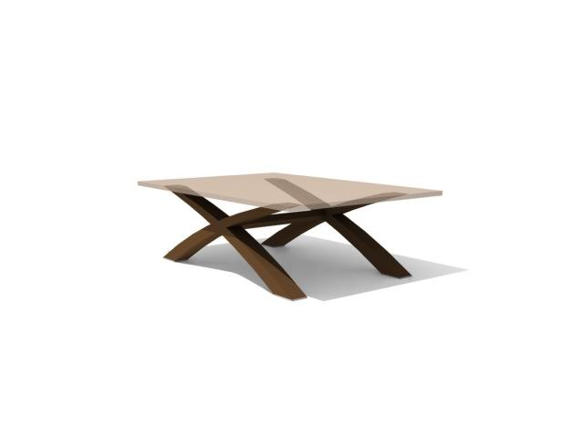 3d max coffee table -