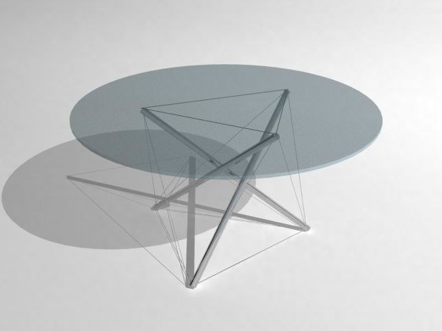 coffee table - 3d ma