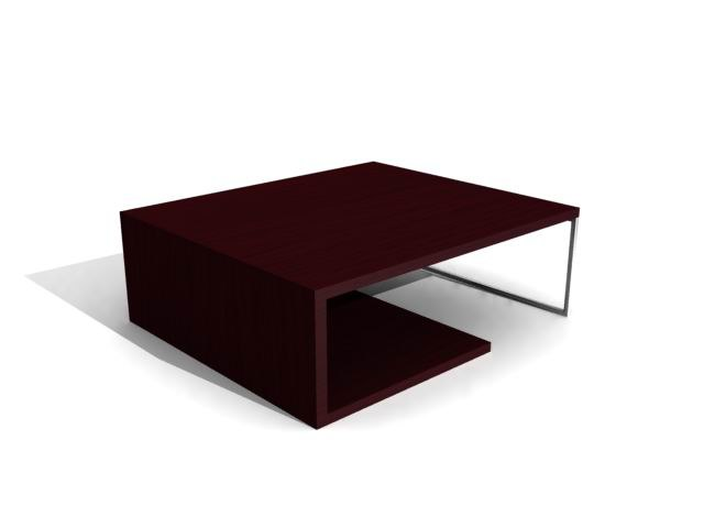 3dsmax coffee table -