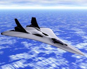 3d model xp-fb spade interceptor
