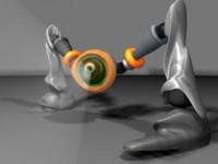 ma robot animation
