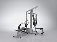 exercise 3d model