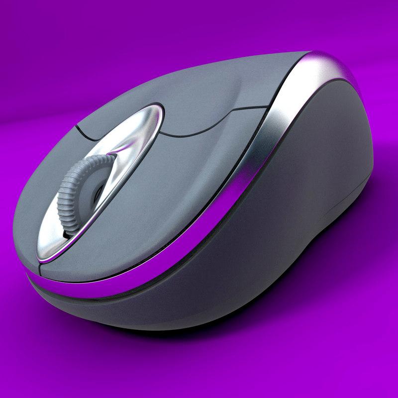 cinema4d design computer mouse