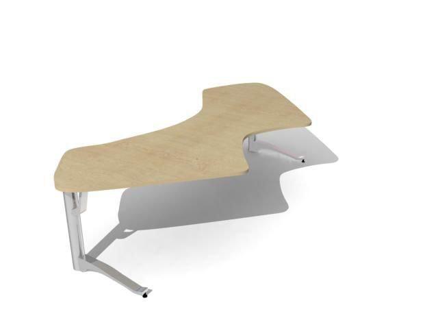 3d desk model
