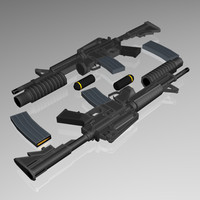 5.56 mm Assault Rifle (M4/M203)