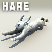 Free Low-poly Hare Model