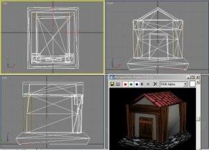 free 3ds model cartoony house hut