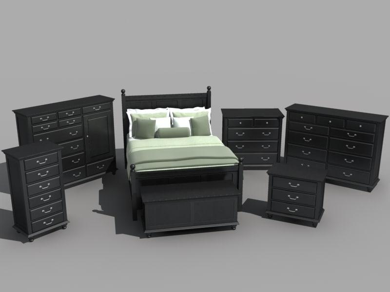 max bedroom furniture set bed