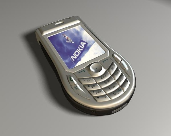 3d nokia 6630 mobile phone model