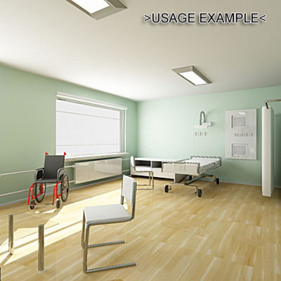 isolation ward 3d 3ds
