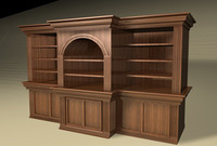BOOKCASE 004 NON-TEXTURED.c4d