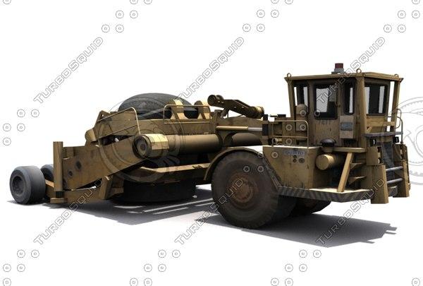 kress industrial 3d model