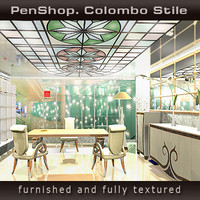 penshop colombo stile 3d model