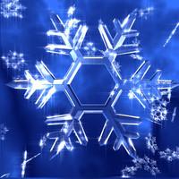 c4d snowflakes ice
