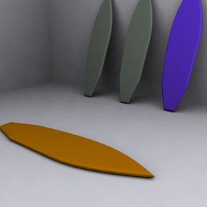 3d model surf table