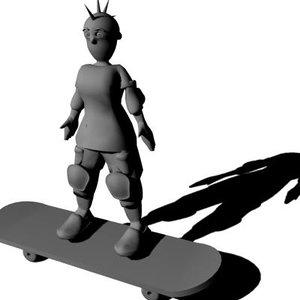 maya skate man