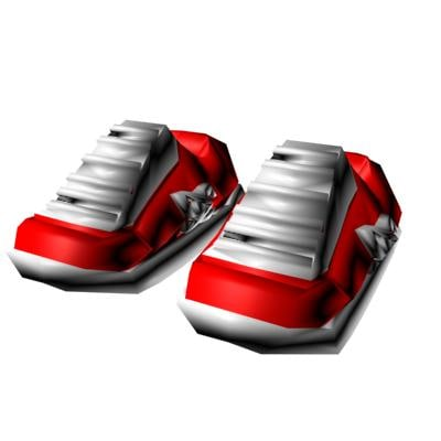 3d dc shoes model