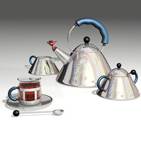 Alessi Tea Set 2012