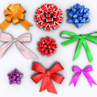 maya ribbons bows 9