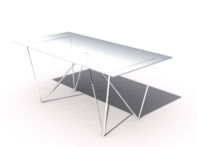 3ds max table -