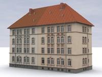 3d model building house